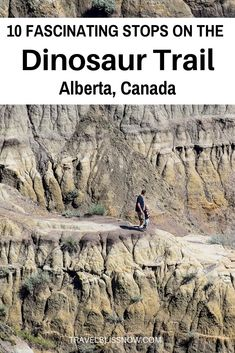 A guide on the fascinating things to see along the dinosaur trail in Alberta, including the best lookout spots and the famous hoodoos. Canadian Travel, Canadian Rockies, Newfoundland Tourism, Lac Louise, Places To Travel, Places To See, Dinosaur Museum, Voyage Canada, Alberta Travel