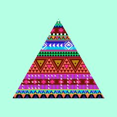 dailytriangle:  10/07/13 Pattern by Andrea Costa / Brief Story