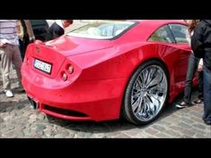 Old Mercedes-Benz CLK Transformed Into Luxury Supercar