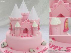 Pink Castle Cake  http://www.cakescrazy.co.uk/details/pink-castle-cake-9581.html