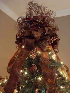 diy christmas tree toppers - Google Search