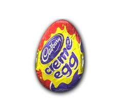 You Can #TreatYoSelf to Easter Candy...But Is It Worth It?:   Cadbury Creme Egg = 150 calories (1 egg). This classic Easter treat packs 6 grams of fat and 20 grams of sugar into one little egg. (Thanks, irresistible cream filling!). Indulge, then grab a partner and burn off those cals with a 30-minute game of doubles tennis. #SELFmagazine