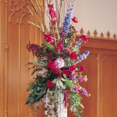 See all the church decorations at this site plus free flower tutorials