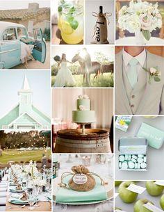 Mint Colour Palette Wedding Theme I want this to be my wedding so bad Mint Wedding Themes, Wedding Theme Inspiration, Wedding Mint Green, Wedding Color Schemes, Wedding Trends, Trendy Wedding, Wedding Colors, Our Wedding, Dream Wedding