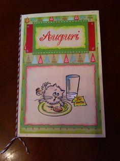 Card Natale gatto