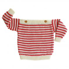 stripy jumper. designed and made in ireland.