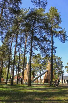 Hedlundadungen, Umeå - playground