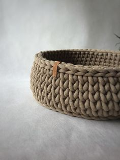 Handmade Home Decor, Etsy Handmade, Handmade Items, Handmade Gifts, Chunky Crochet, Chunky Yarn, Cat Basket, Nyan Cat, Music Jewelry