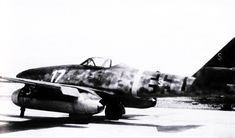 Me 262 A-1a W.Nr.110956 Franz Holzinger 3 EJG2 captured Lechfeld-April-29-1945