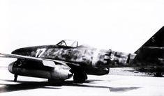 Me 262 A-1a W.Nr.110956 Franz Holzinger 3 EJG2 captured Lechfeld-April-29-1945