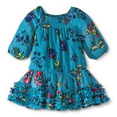 Infant Toddler Girls' Floral A-line Dress