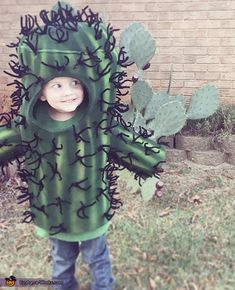 Samantha: This is our 3 year old son JD. He insisted on being a cactus for Halloween. We tried to change his mind offering up ideas such as super heroes and...