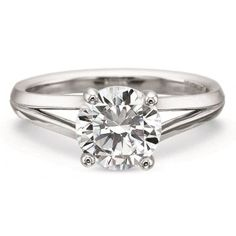 Precision Set New Aire Collection Diamond Engagement Ring