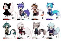 [CLOSED] Pikun/Pichan species batch 1 by Piku-chan21.deviantart.com on @DeviantArt