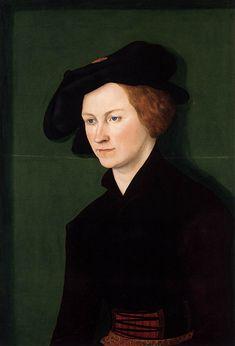 Lucas Cranach (Northern Renaissance Painter, 1472-1553) and his workshop Portrait of a Young Woman 1522