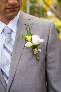 #MartinRobertsDesign #MRDHawaii #Kauai #Wedding #MRDGroom #Boutonniere #Flowers