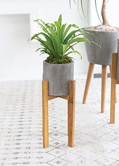 Berlin-Wood-and-Concrete-Plant-Stand-2175-Tall