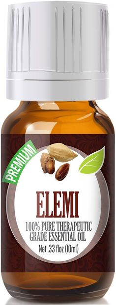 Pure Therapeutic Grade Elemi Essential Oil Botanical Name: Canarium luzonicum Comes in amber glass essential oil bottle. European Dropper Cap included Elemi Essential Oil has.