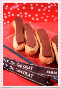 Thermomix: Les éclairs au chocolat façon Ladurée