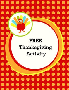 FREE Thanksgiving Activity