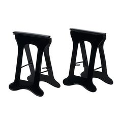 Two Metal Sawhorses