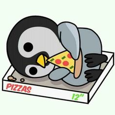I wish they added Luke lying by the penguin, would of been so adorable! Penguin Love, Cute Penguins, Pinguin Drawing, Tarzan Y Jane, Animals And Pets, Cute Animals, Dibujos Cute, Rare Pictures, 1d And 5sos