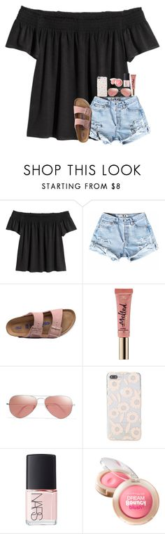 """""""RTD!!!!! EXTREMELY IMPORTANT!!!!"""" by southerngirl03 ❤ liked on Polyvore featuring Birkenstock, Too Faced Cosmetics, Ray-Ban, Kate Spade, NARS Cosmetics, Maybelline, pray, prayfortricia, prayersforT and prayforT"""