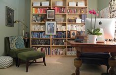 """Love this home office. A great """"me"""" space."""