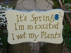 Spring - My aunt has such a beautiful garden. I want to make this for her so bad!