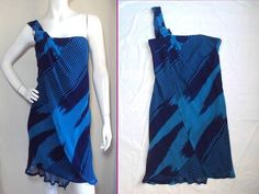 Chris Benz Barneys NY Easy Luxe Timeless Sexy One Shoulder Asymmetrical Dress 6 | eBay