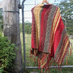 Woodlands Poncho by Timber and Twine