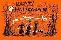 Happy Halloween, the way it was...