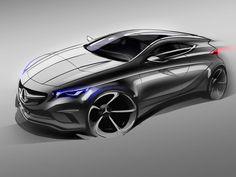 Mercedes-Benz Concept A-Class Design Sketch