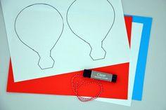 Kreativ med barna - Feststemt luftballong | Småbarnsforeldre Barn, Space, Creative, Kunst, Floor Space, Converted Barn, Barns, Shed, Sheds