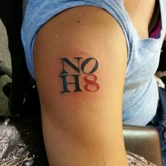 A small tattoo performed by Trap Wright @holyshit407 #defiancetattoo #defiancefamily #noh8 #nohate #orlando #florida #tattoo #customtattoo