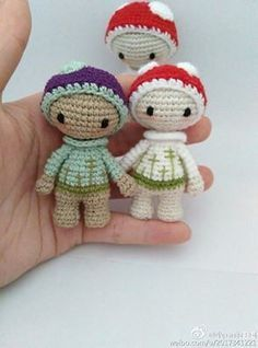 Amigurumi Tiny Lalylala-Free Pattern (Amigurumi Free Patterns)