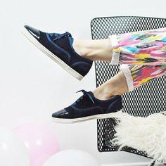 8ab27d72163 Mi-Mai - Clay Blue - 169€. Félins Paris · Sneakers   Baskets