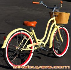 Cruiser Bikes With Baskets For Women Bike Beaches Cruiser