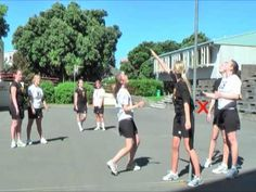 Netball Umpire Training - Defending from out of court - YouTube