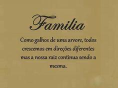 Amo minha família! Obrigada Senhor por cada um ,amo todos com suas qualidades e defeitos!