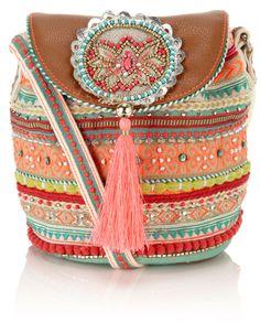 *♥* Malibu Pouch Across Body Bag   Multi   Accessorize
