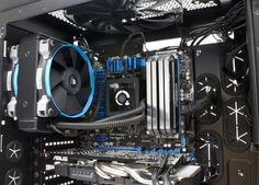 Custom built systems including desktop gaming pcs, gaming notebooks, and workstations.