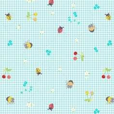 spring gingham fabric by katarina on Spoonflower - custom fabric