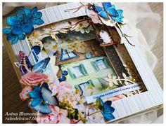C.h.e.a.p.-art: Вдохновение от ДК. Алена Шатохина: открытка-туннель