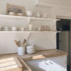 "British Standard Cupboards on Instagram: ""Our cupboards are beautifully simple and made to last a lifetime, which means pairing them with old materials, like this reclaimed oak…"""