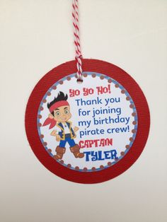 Jake and the Neverland Pirates Jake Custom by DivineDecorations, $8.00