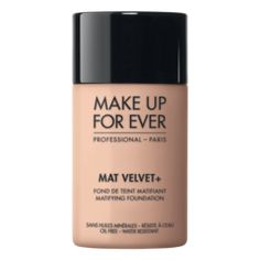 MAKEUP FOREVER Mat Velvet + - Ivory Matifying Foundation 37020