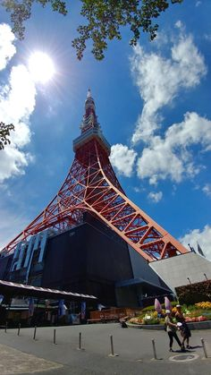 Tokyo Tower Places To Travel, Places To Visit, Aesthetic Japan, Tokyo Tower, Japan Photo, Japanese Architecture, Tokyo Japan, Far Away, Scenery