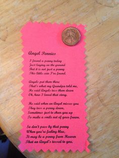 Angel pennies Secret Sister Gifts, Secret Pal, Christian Crafts, Christian Sayings, Bible Crafts, Faith Crafts, Bible Object Lessons, Church Activities, Church Crafts