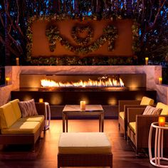 Get Cozy! Where To Eat By The Fire